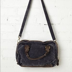 Free People Ashford Distressed Satchel